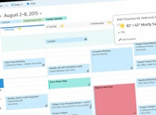 El uso del calendario de Outlook web app
