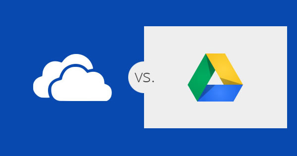 OneDrive vs. Google drive, los eternos competidores